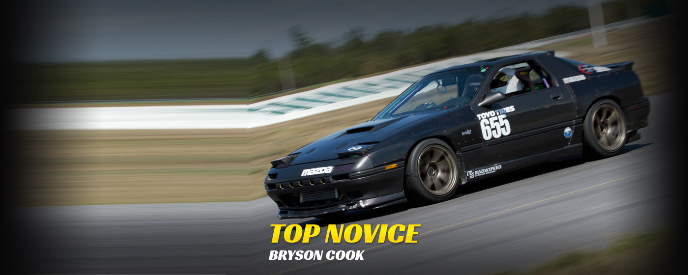 Top Novice - Bryson Cook